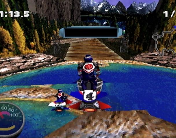 Jet Rider Moto 2 Sony PlayStation PSX Xtreme Retro 1