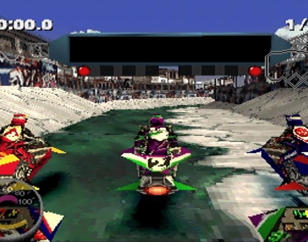 Jet Rider Moto 2 Sony PlayStation PSX Xtreme Retro 10
