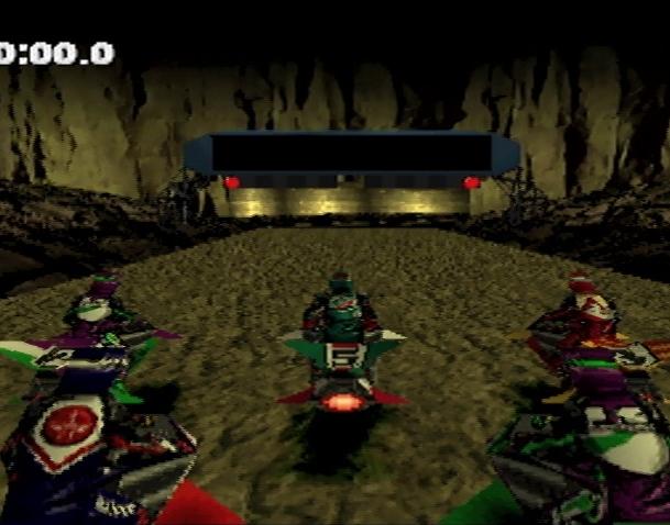 Jet Rider Moto 2 Sony PlayStation PSX Xtreme Retro 12