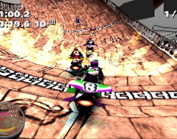 Jet Rider Moto 2 Sony PlayStation PSX Xtreme Retro 19