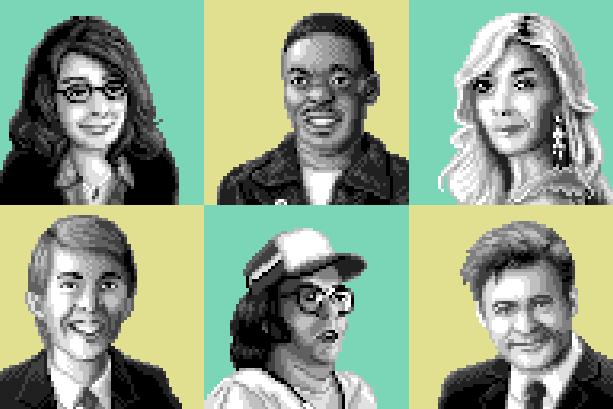 Little Computer People Videogame Pixel Art Xtreme Retro