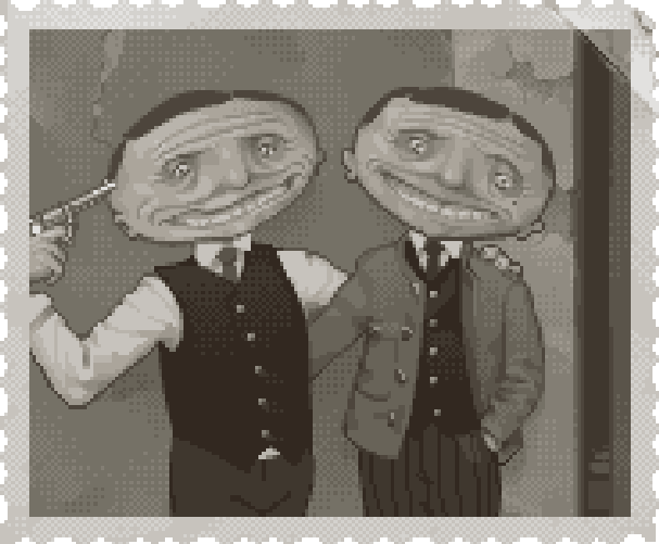 Meeting Pixel Art Xtreme Retro