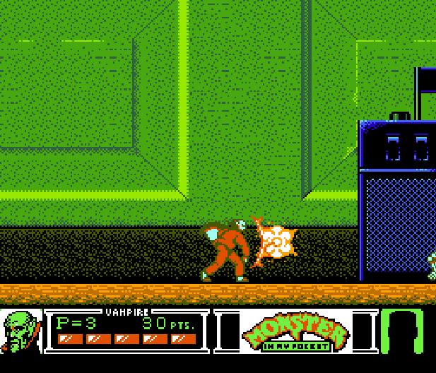 Monster in my pocket Konami NES Platform Game Xtreme Retro 4