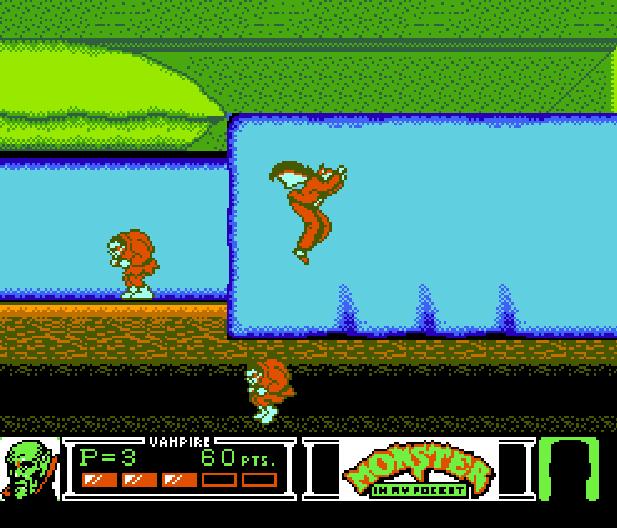 Monster in my pocket Konami NES Platform Game Xtreme Retro 5
