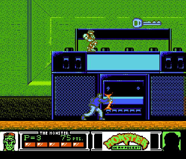 Monster in my pocket Konami NES Platform Game Xtreme Retro 7