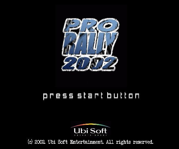 Pro Rally 2002 Ubisoft GameCube GC PlayStation 2 PS2 Xtreme Retro 2