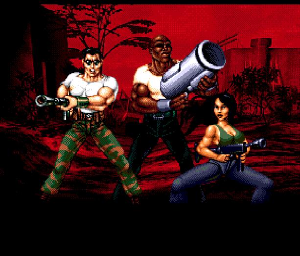 Red Zone Sega Genesis Mega Drive Shooter Xtreme Retro 10