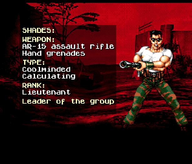 Red Zone Sega Genesis Mega Drive Shooter Xtreme Retro 11
