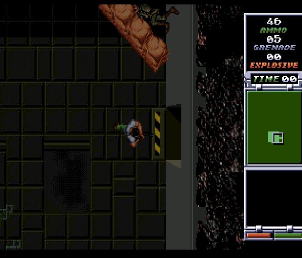 Red Zone Sega Genesis Mega Drive Shooter Xtreme Retro 12