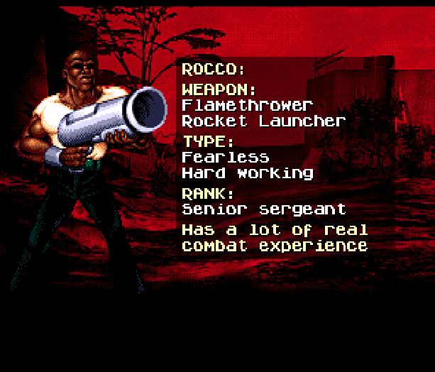 Red Zone Sega Genesis Mega Drive Shooter Xtreme Retro 13