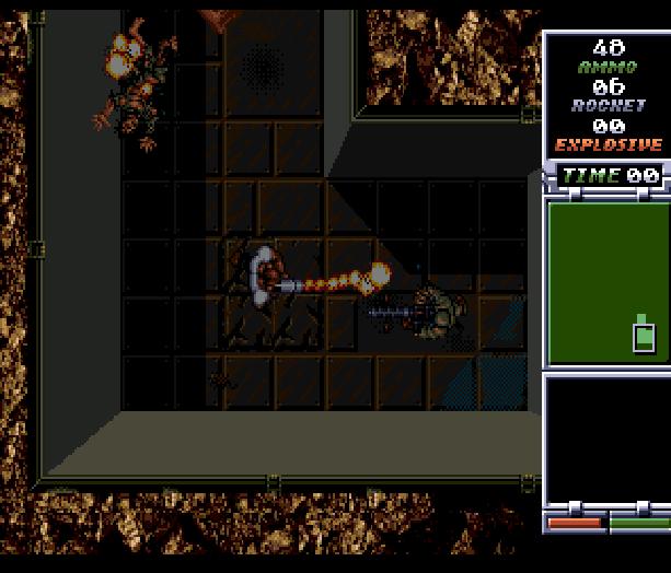 Red Zone Sega Genesis Mega Drive Shooter Xtreme Retro 15