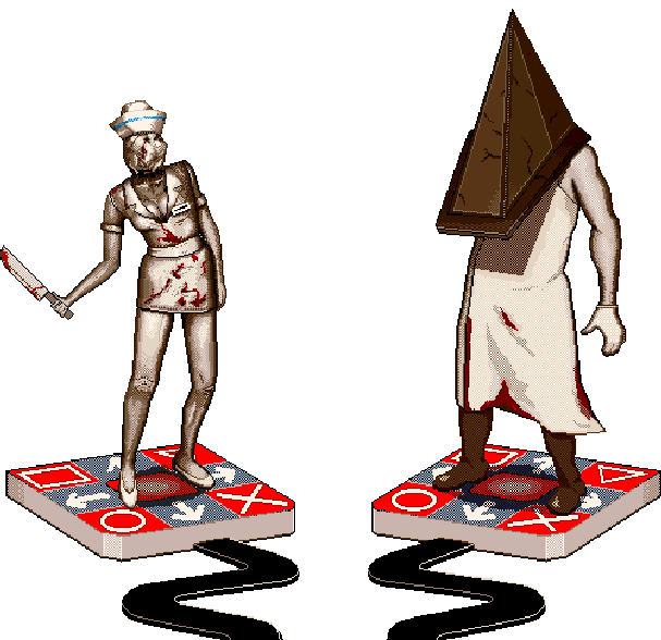 Silent Hill 3 Konami PS2 PlayStation 2 Survival Horror Xtreme Retro Pixel Art