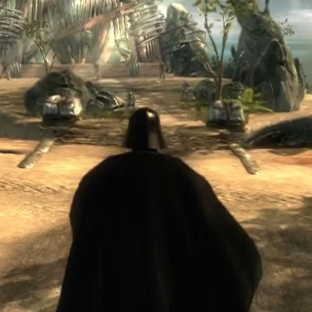 Star Wars El Poder de la Fuerza The Force Unleashed LucasArts PlayStation 3 PS3 PS2 PSP Xbox 360 Nintendo Wii DS PC Xtreme Retro 1