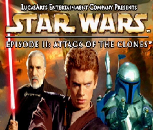 Star Wars Episode II Attack of the Clones LucasArts THQ Nintendo Game Boy Advance GBA Xtreme Retro 1