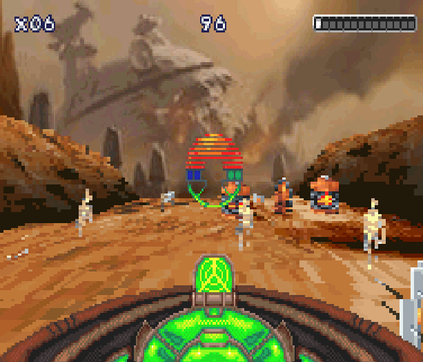 Star Wars Episode II Attack of the Clones LucasArts THQ Nintendo Game Boy Advance GBA Xtreme Retro 11