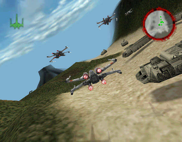 Star Wars Rogue Squadron Factor 5 LucasArts PC N64 Nintendo 64 Shooter Xtreme Retro 10