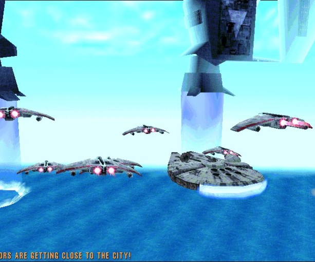 Star Wars Rogue Squadron Factor 5 LucasArts PC N64 Nintendo 64 Shooter Xtreme Retro 34
