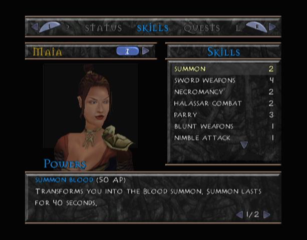 Summoner 2 A Goddess Reborn THQ RPG PS2 PlayStation 2 GC GameCube Xtreme Retro 14