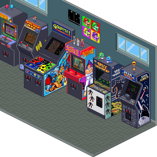 System 16 Capcom Pixel Art Xtreme Retro