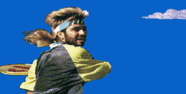 Tennis Pixel Art Xtreme Retro 1