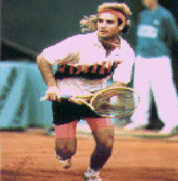 Tennis Pixel Art Xtreme Retro 3