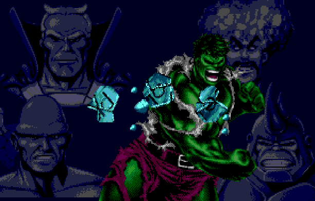 The Incredible Hulk Sega Genesis Mega Drive MD Probe Entertainment US Gold Marvel Comics Xtreme Retro 3