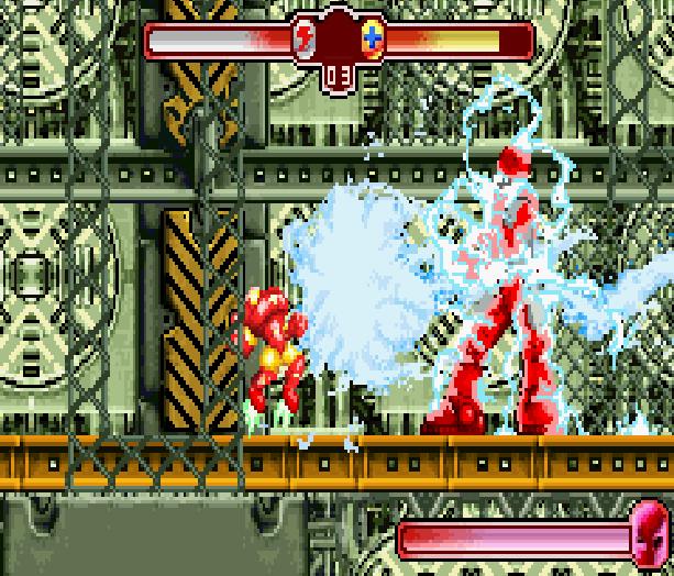 The Invincible Iron Man Marvel Comics Activision Nintendo Game Boy Advance GBA Xtreme Retro 13