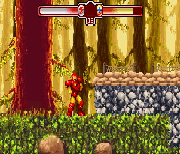 The Invincible Iron Man Marvel Comics Activision Nintendo Game Boy Advance GBA Xtreme Retro 6