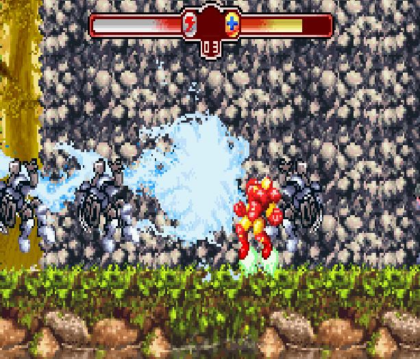 The Invincible Iron Man Marvel Comics Activision Nintendo Game Boy Advance GBA Xtreme Retro 7