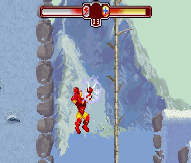 The Invincible Iron Man Marvel Comics Activision Nintendo Game Boy Advance GBA Xtreme Retro 8