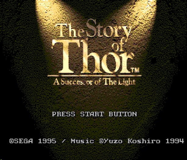 The Story of Thor Beyond Oasis Sega Genesis Mega Drive Ancient Yuzo Koshiro Xtreme Retro 1