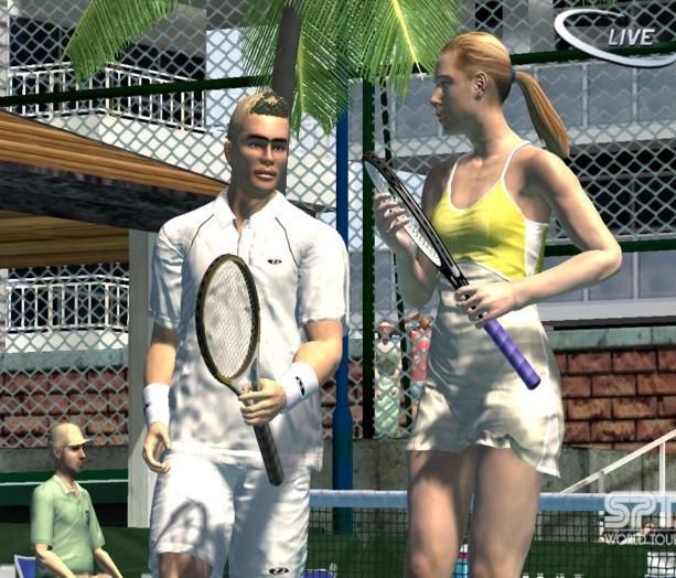 Virtua Tennis 3 Sega Xtreme Retro 17