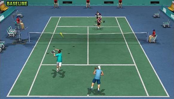 Virtua Tennis World Tour Sega PSP Xtreme Retro 1