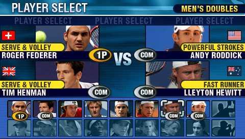 Virtua Tennis World Tour Sega PSP Xtreme Retro 5