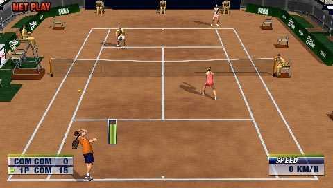 Virtua Tennis World Tour Sega PSP Xtreme Retro 6