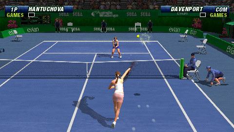 Virtua Tennis World Tour Sega PSP Xtreme Retro 8