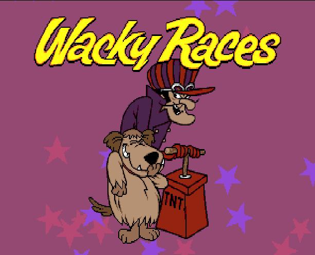 Wacky Races Sega Genesis Mega Drive Hanna Barbera Xtreme Retro 1