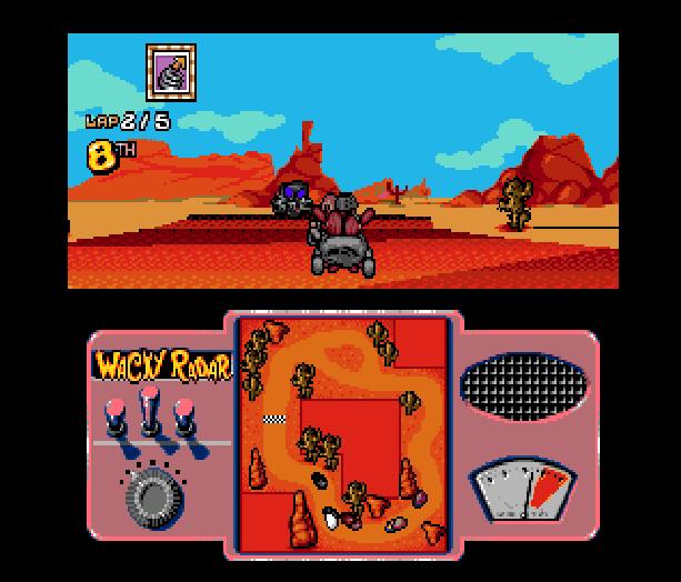 Wacky Races Sega Genesis Mega Drive Hanna Barbera Xtreme Retro 3