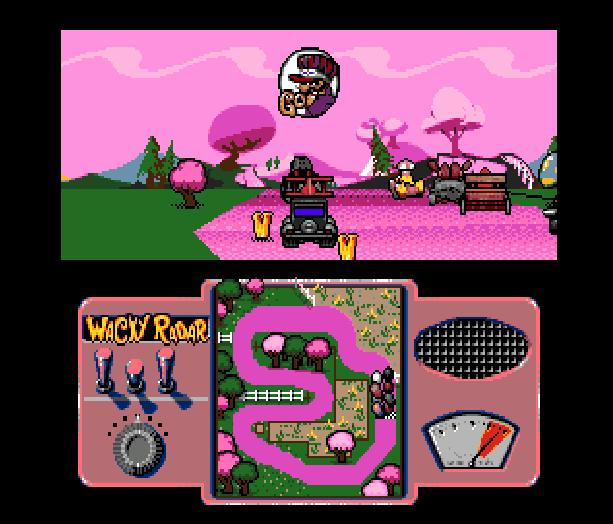 Wacky Races Sega Genesis Mega Drive Hanna Barbera Xtreme Retro 7