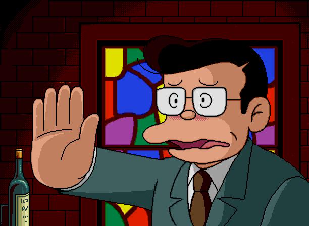 Warau Salesman The Laughing Salesman Sega Mega CD Hiroshi Fujimoto Motoo Abiko Fujio Fujiko Xtreme Retro Digital Novel 7
