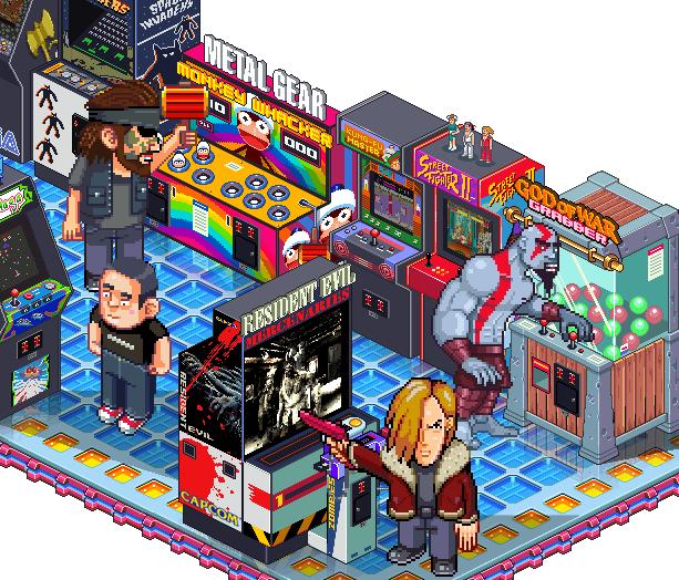 Arcade Coin Op Pixel Art Xtreme Retro