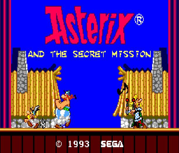 Asterix and the Secret Mision Sega Master System Xtreme Retro 1