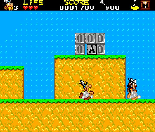 Asterix and the Secret Mision Sega Master System Xtreme Retro 12
