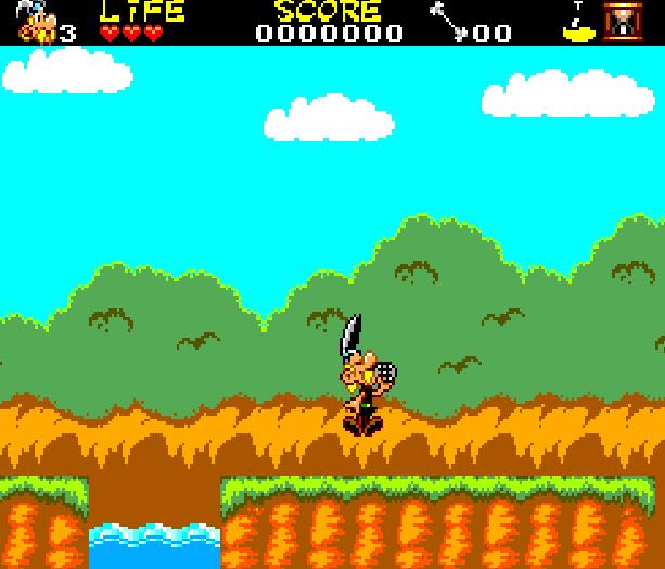 Asterix and the Secret Mision Sega Master System Xtreme Retro 4