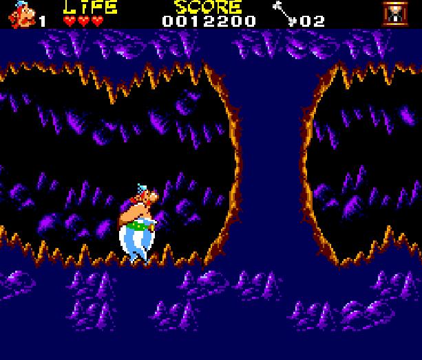 Asterix and the Secret Mision Sega Master System Xtreme Retro 8