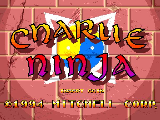 Charlie Ninja Arcade Coin Op Xtreme Retro 1
