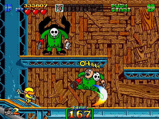 Charlie Ninja Arcade Coin Op Xtreme Retro 7