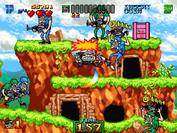 Charlie Ninja Arcade Coin Op Xtreme Retro 9