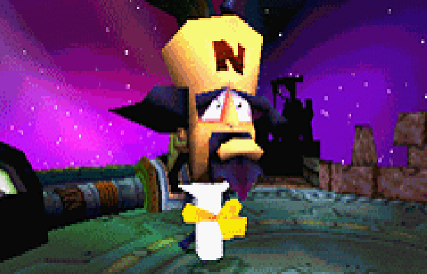 Crash Bandicoot Cortex Revenge PlayStation 2 PS2 Xbox GameCube GC Travellers Tales Xtreme Retro Pixel Art