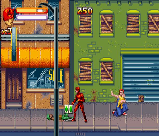 Daredevil Marvel Comics Nintendo Game Boy Advance GBA Xtreme Retro 2